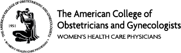 american college obstetrician gynecologists logo - Home